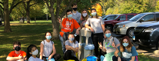 Thank you for a great Clean Your Streams 24! <p>431 volunteers removed over 16, 957.11 pounds of trash from local waterways!</p>