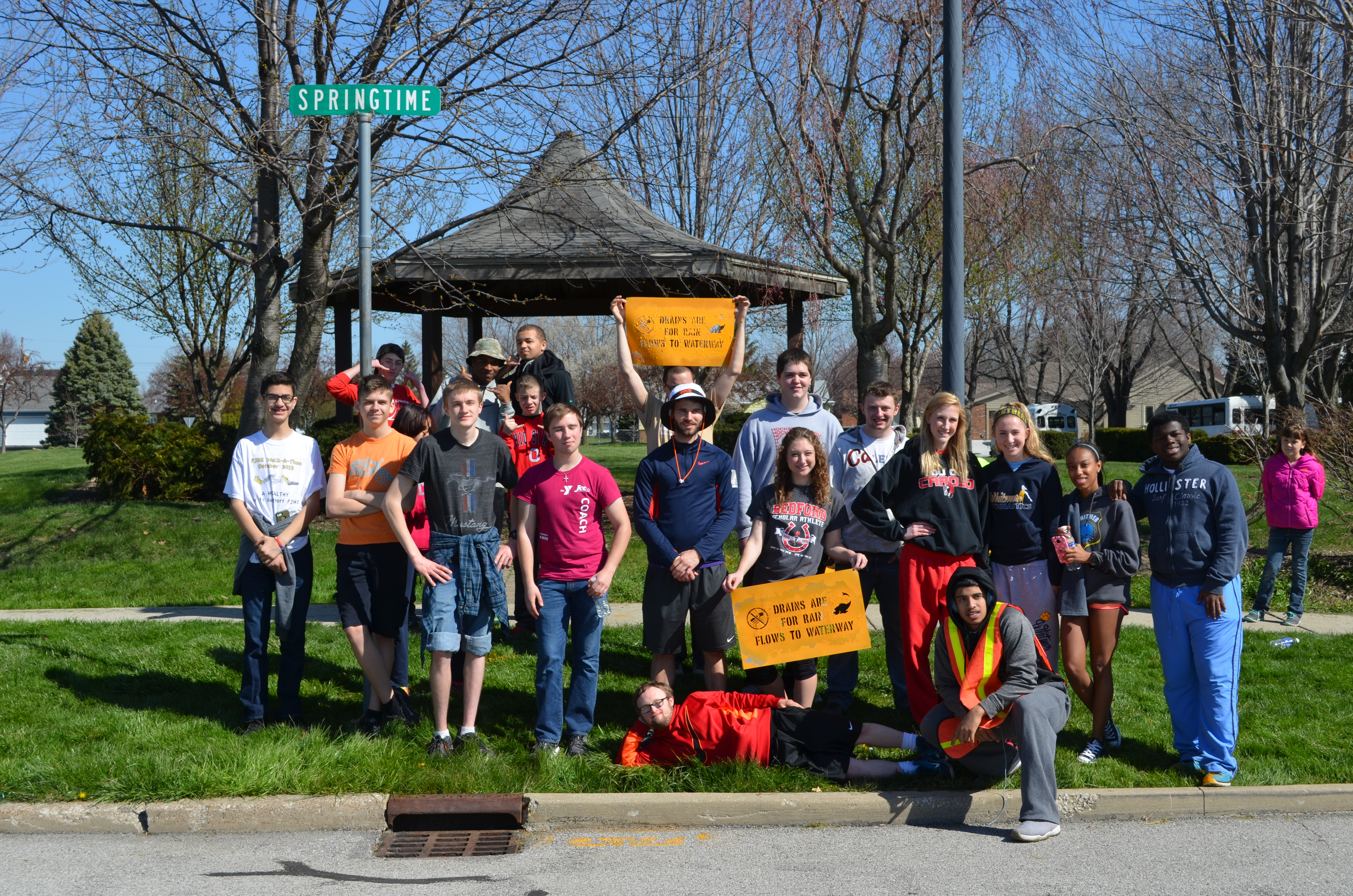 Youth Take Pride in their 