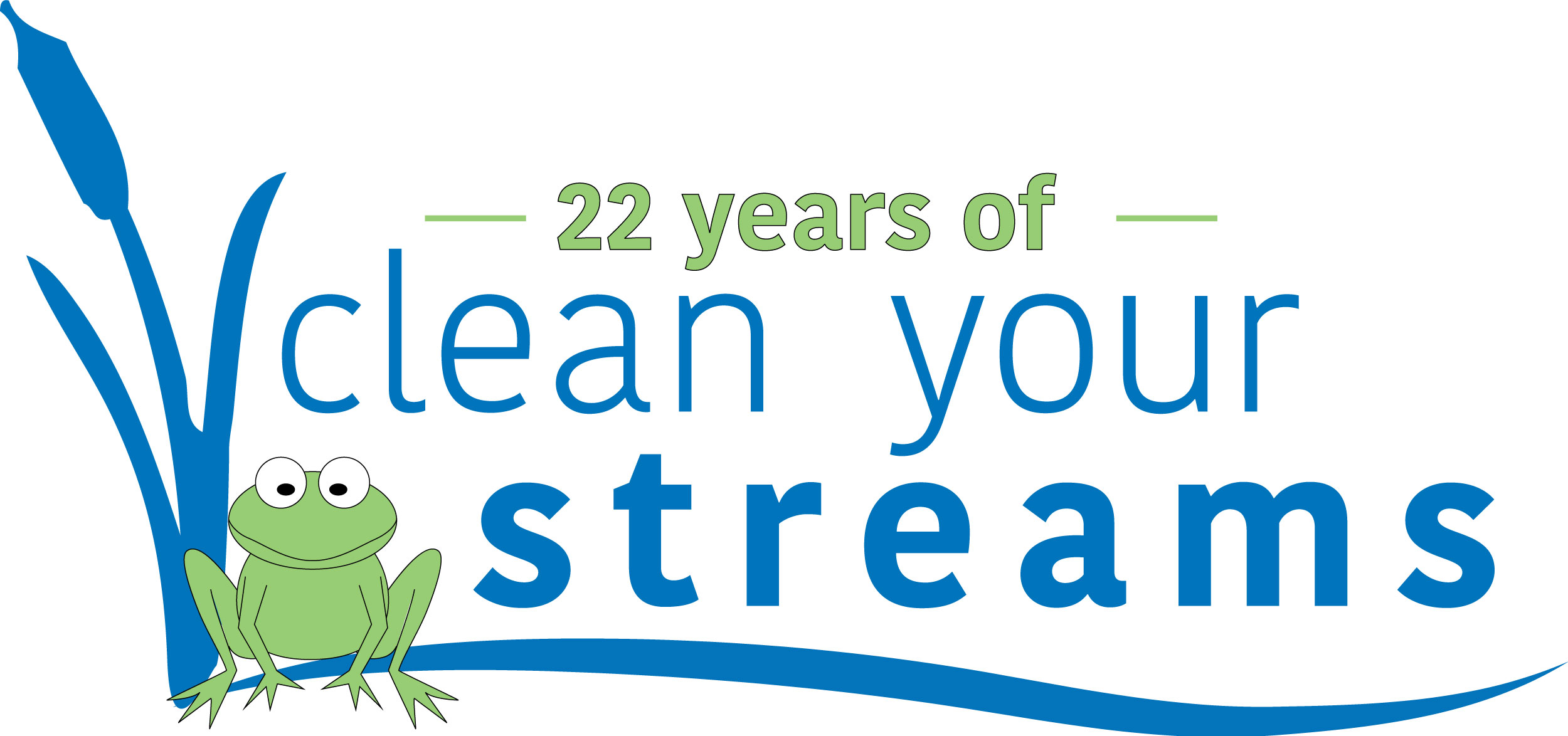 Celebrating 22 Years of Clean Streams!<p>Over the past 21 CYS cleanups, 266,113 pounds of trash have been collected by 11,025 volunteers.</p>